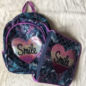 "Justice ""Smile"" Backpack"